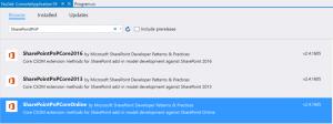SharePointPnPCore-NuGet
